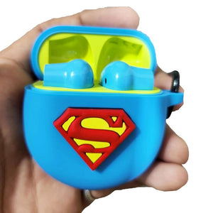 Superman Blue Protective Silicone Cover for OnePlus Buds (Cover Only)