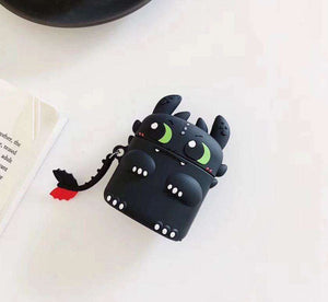Toothless Cute Dragon Protective Silicone Cover for OnePlus Buds (Cover Only)