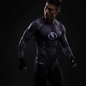 Reverse Flash Black Spandex