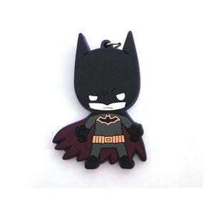 Batman Multicolored Rubber Key Chain