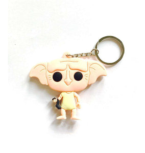 Dobby Multicolored Rubber Key Chain