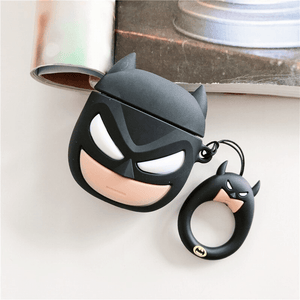 Grumpy Batman Silicone Cover For Apple Airpods(Cover Only)