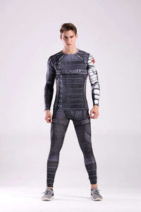 Captain America Winter Soldier Spandex Suit