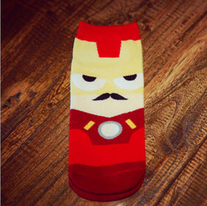 Ironman Novelty Ankle Length Socks