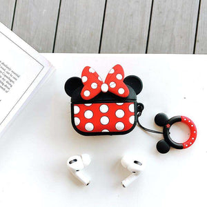 Minnie Silicone Cover For Apple Airpods Pro(Cover Only)