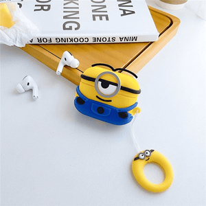 Minion Stuart Silicone Cover For Apple Airpods Pro(Cover Only)
