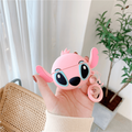 Pink Stitch Silicone Cover For Apple Airpods Pro(Cover Only) - Heropantee