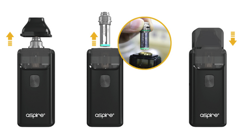 Aspire Breeze v2 AIO coil changing