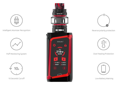 smok morph safety features built in