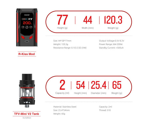 smok species specifications picture
