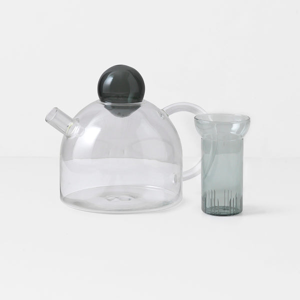 Still Teapot - smoke / grey
