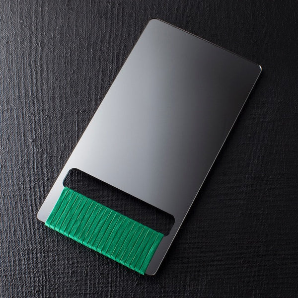 BARBER HAND MIRROR - Green