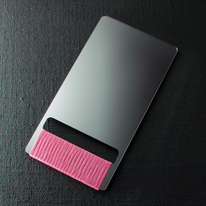 BARBER HAND MIRROR - pink