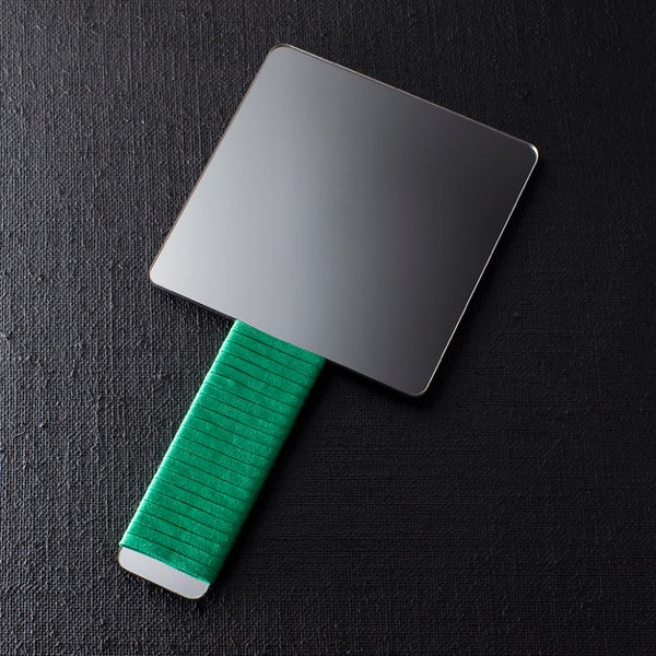 BAT HAND MIRROR - Green