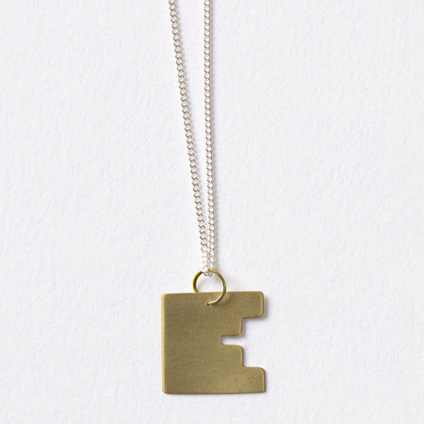 "Bauhaus Chain 16"" Gold"