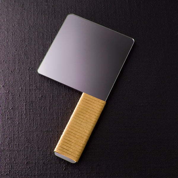 CLEAVER HAND MIRROR - yellow
