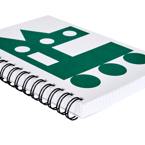 Impossible Machines Notebook - Green