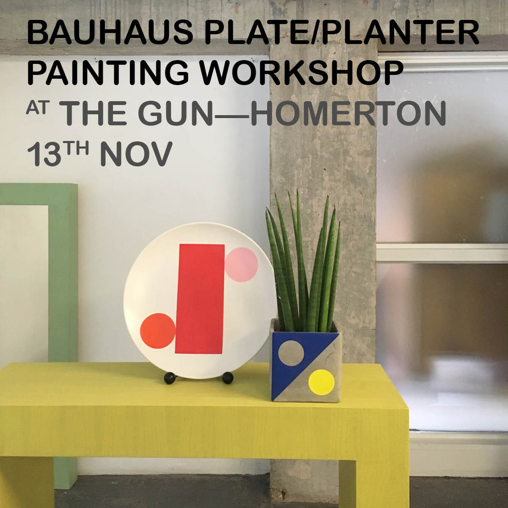 PLATE/PLANTER PAINTING WORKSHOP — 13th Nov