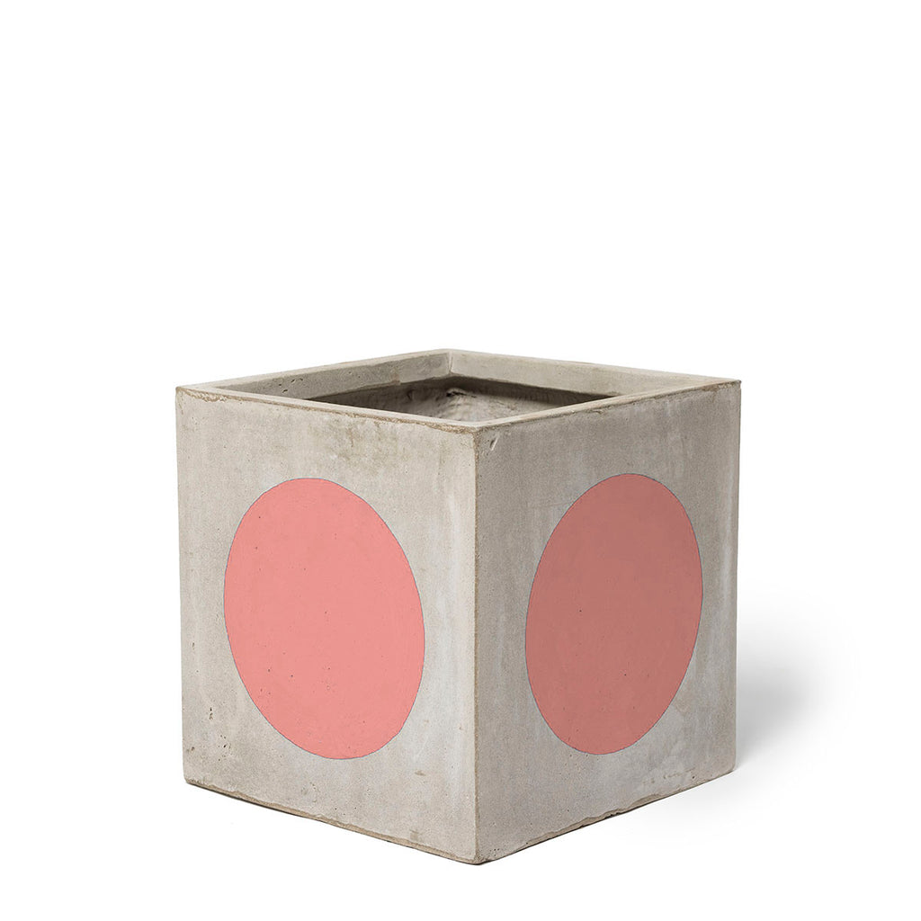 Play Pot Small Concrete Coral Spot