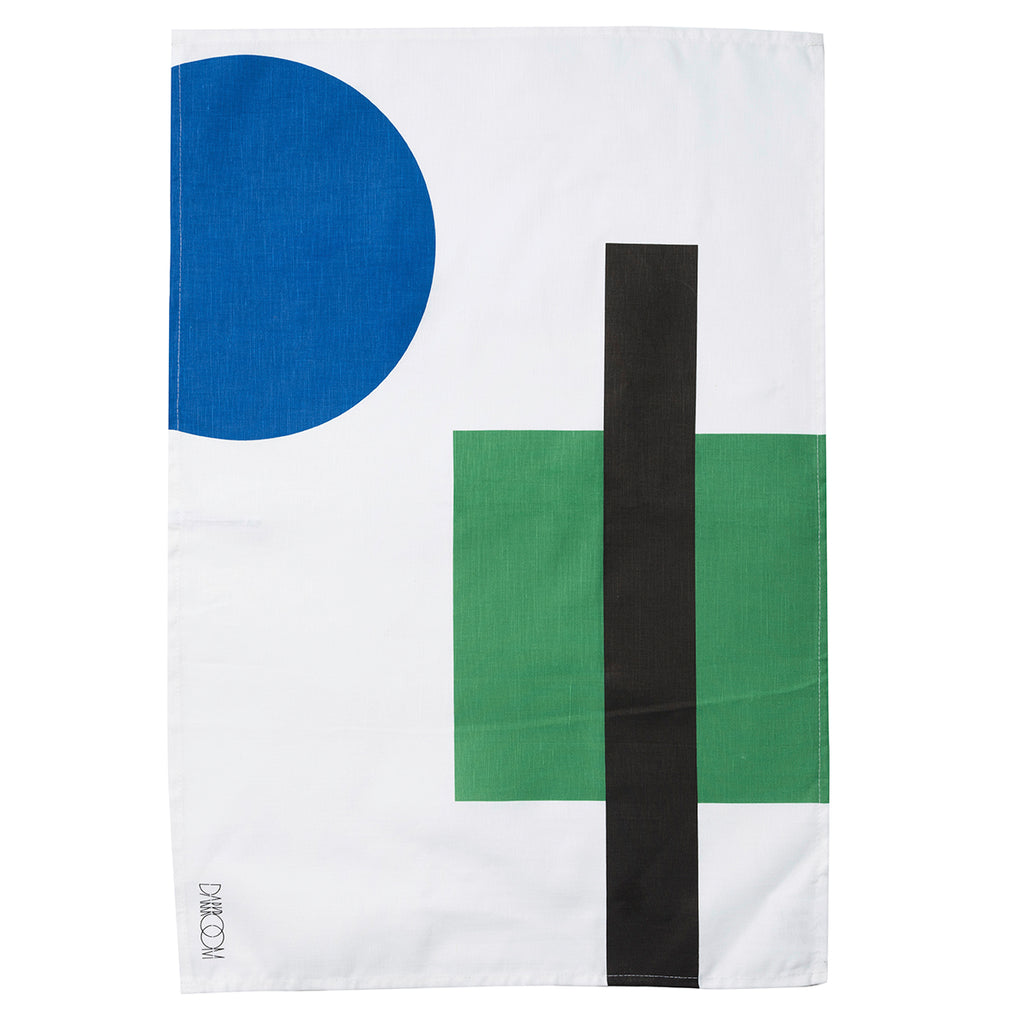 Stolen from De Stijl Tea Towel  — Green