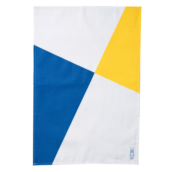 Stolen from De Stijl Tea Towel  — Blue