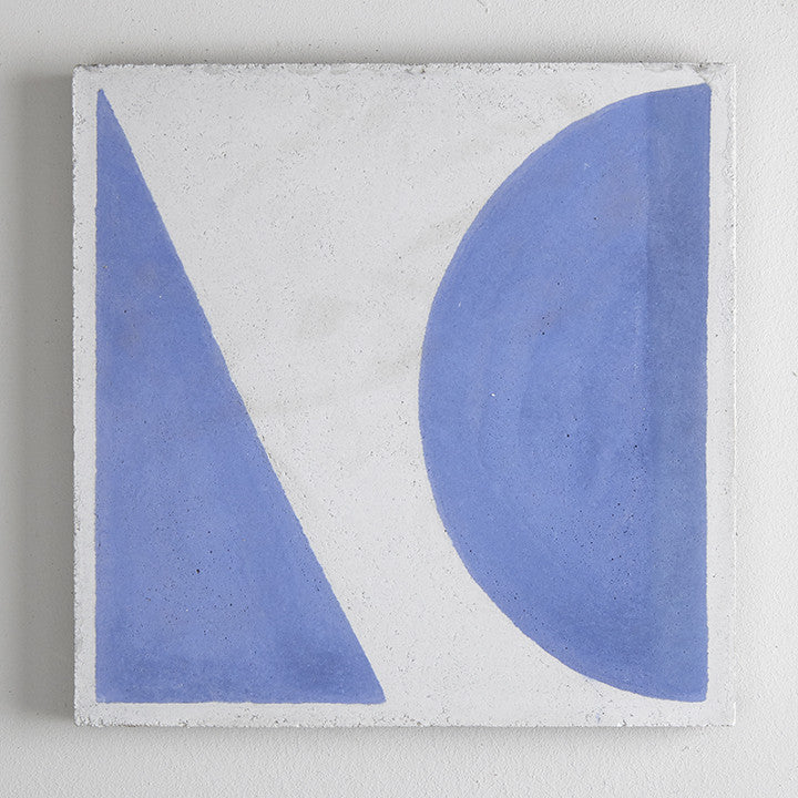 Split Shift Tile 2 Blue