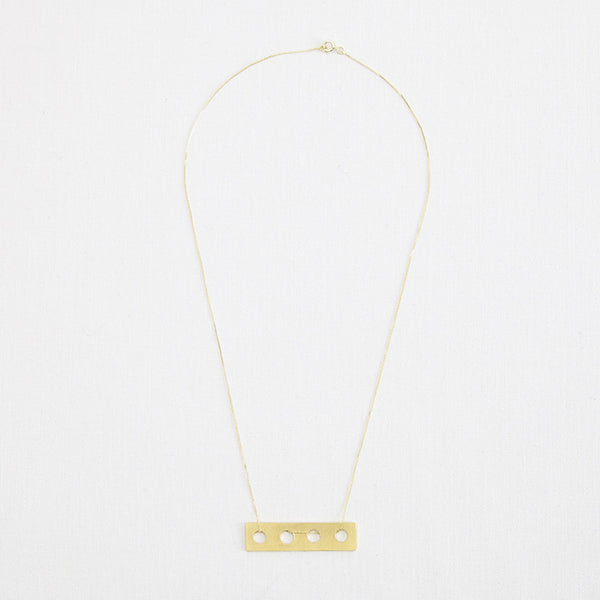Connect Pendant Medium Gold