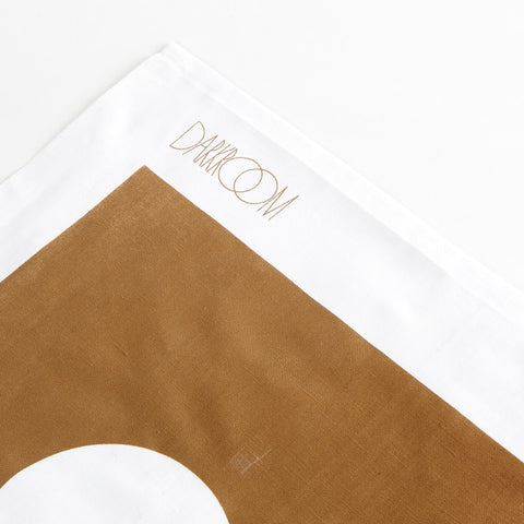 Brick Tea Towel Brown