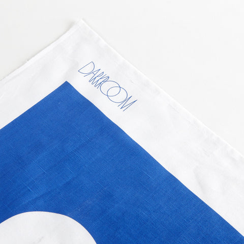 Brick Tea Towel Blue