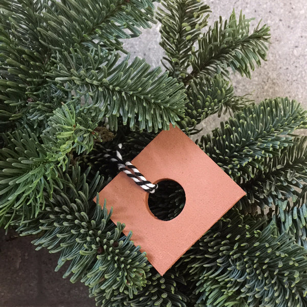 Terracotta Christmas Pendant Set — Small