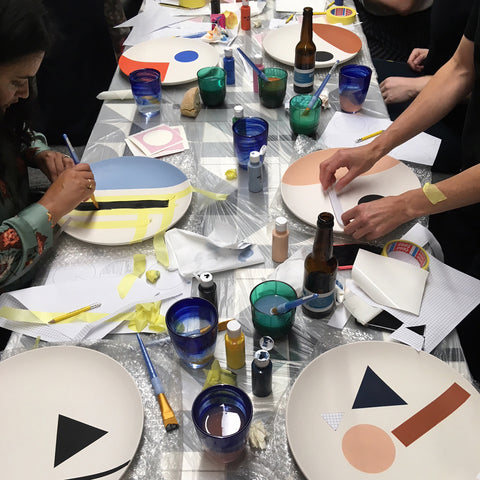PLATE PAINTING WORKSHOP — 23th July 10am