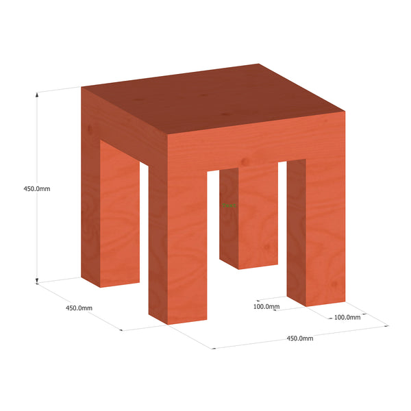 BLOK — STOOL / SIDE TABLE 2