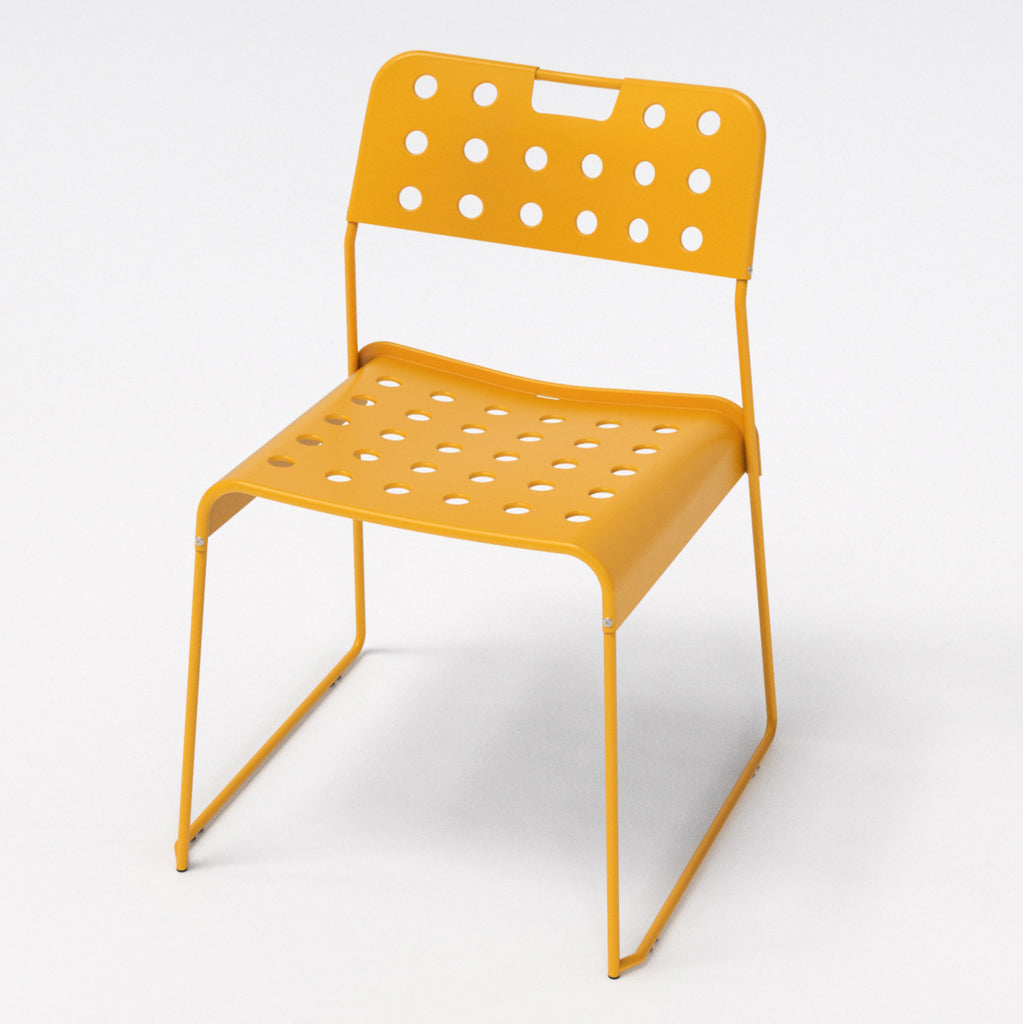 Omkstak chair by OMK 1965 — yellow