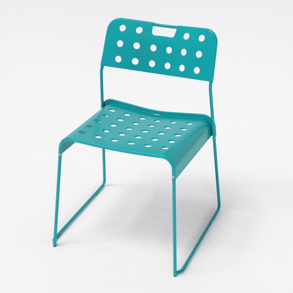 Omkstak chair by OMK 1965 — teal