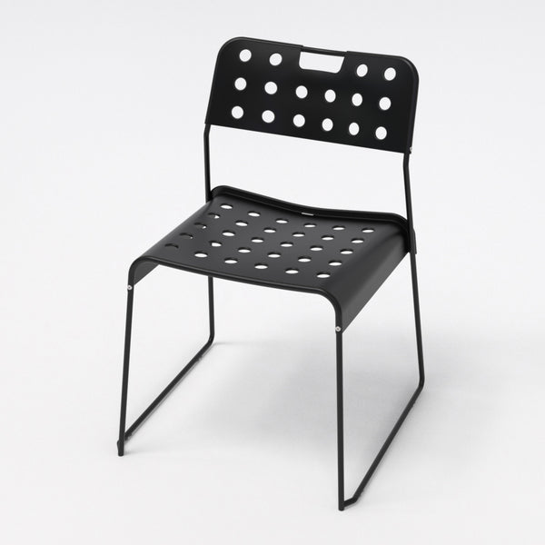 Omkstak chair by OMK 1965 — jet black