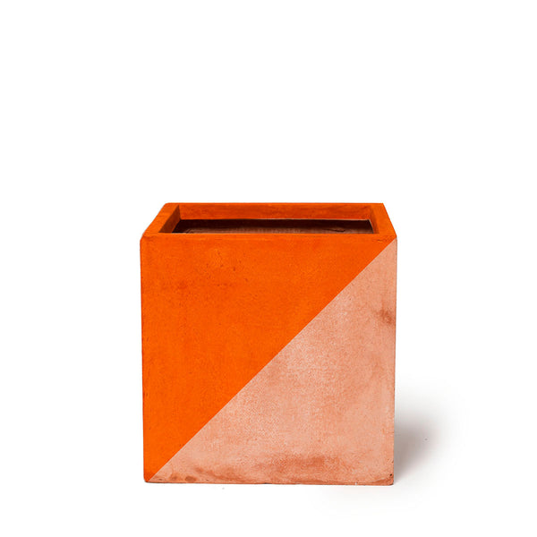 Play Pot Terracotta — Orange Triangle