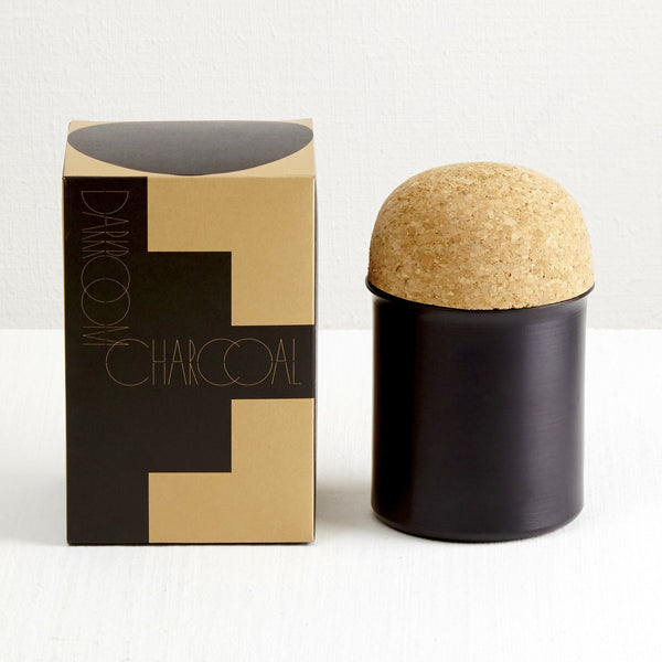 Shapes Scented Candle Charcoal