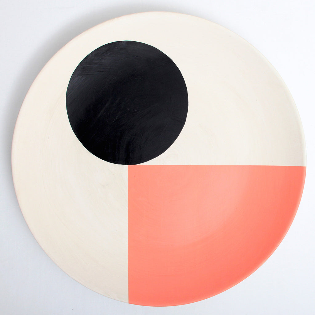 So Sottsass Plate - pink