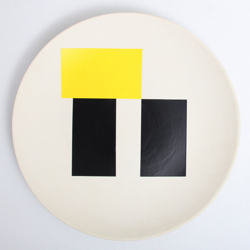 So Sottsass Plate - yellow