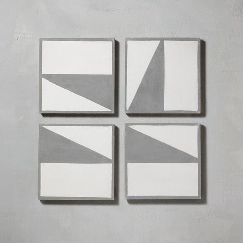 Split Shift Tile 1 Inverse Grey