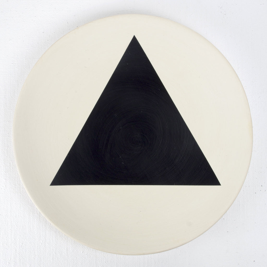 TRIBALALA PLATE - TRIANGLE