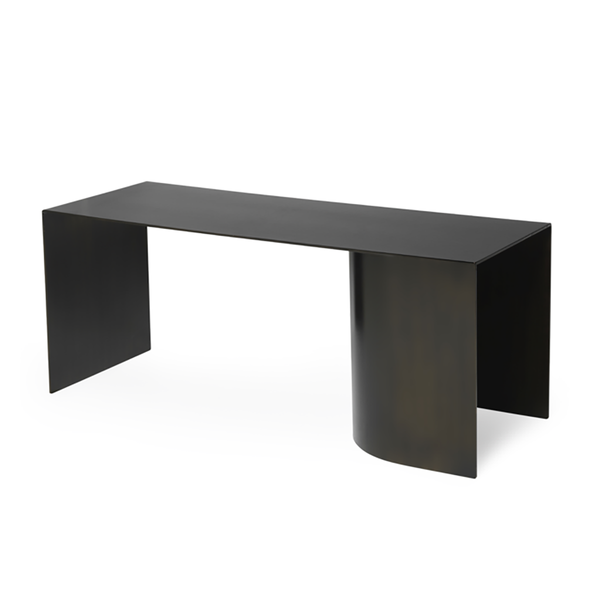 Ferm Living Steel Black Place Bench Indoor Outdoor