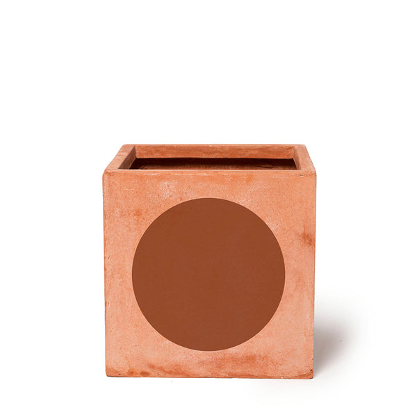 Play Pot Terracotta — Brown Dot