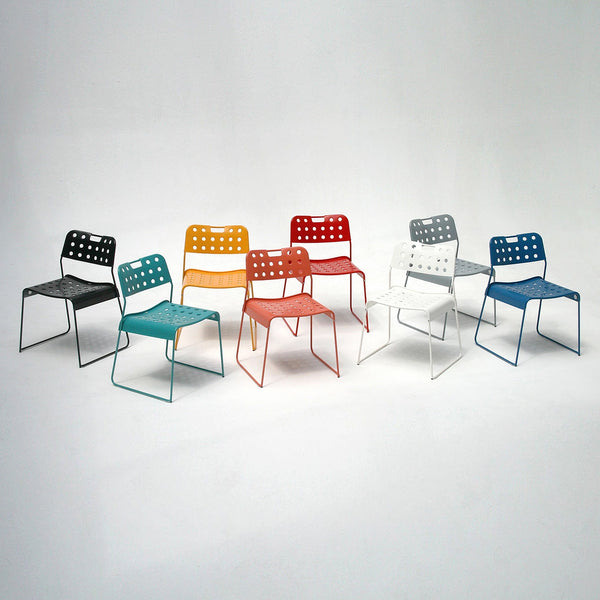 Omkstak chair by OMK 1965 — red