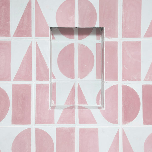 Split Shift Tile 1 Pink