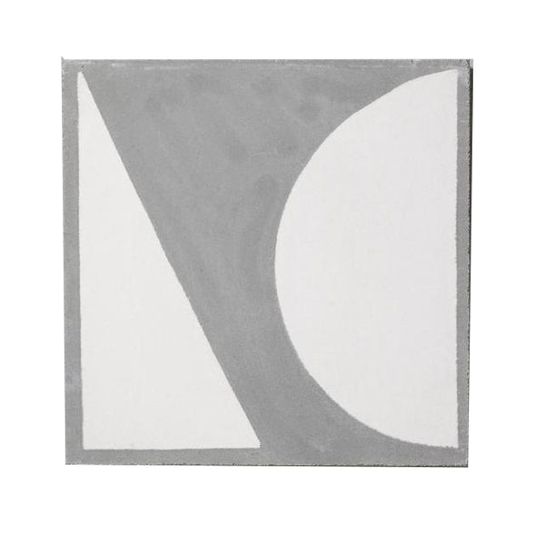 Split Shift Tile 3 Inverse Grey