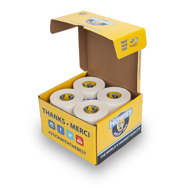 Howie's Tape Cube - 20 White (20W) - Mega's Hockey Shop