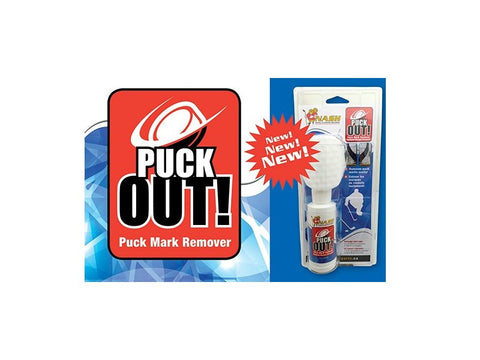 Puck Out! - Puck Mark Remover - Mega's Hockey Shop
