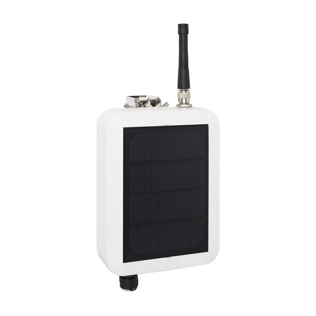 Solar panel powered LoRaWAN RTU for SDI-12 sensors - TBS12S