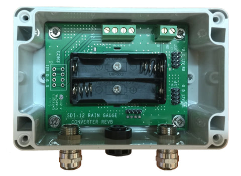 SDI-12 Rain Gauge Interface TBSRGC1/2